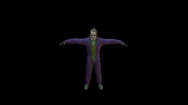 48 hour Game Jam Joker 3D Model