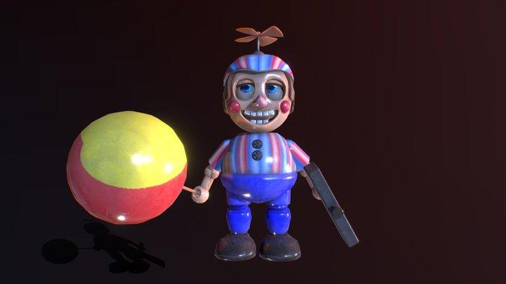 Balloon Boy | Original Fan Model 3D Model