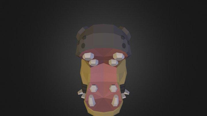 Hippowdon (Pixelmon) 3D Model