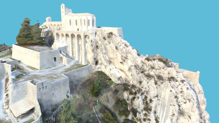 DRAFT: Citadelle de Sisteron (France) 3D Model