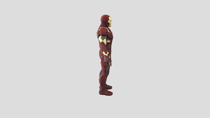 Iron Man mark 46 3D Model