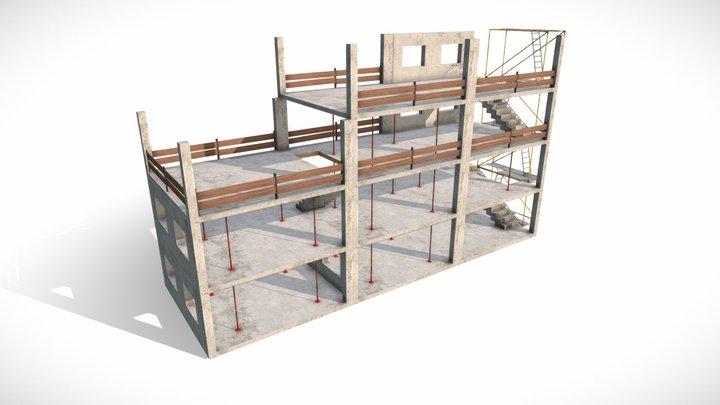 Building Construction Elements 3D Model