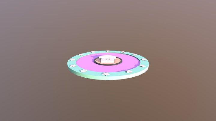 nana house_card 3D Model