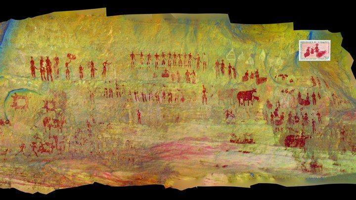 "Gaora Halagana III, ""Funeral Watch"" 3D Model"