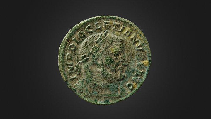 Monnaie romaine 3D Model