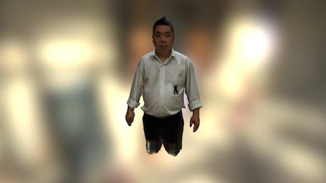 Mr.Teeravee 3D Model