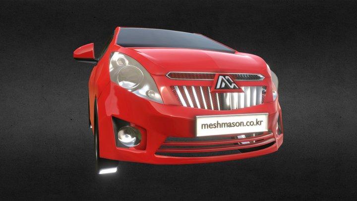 Chevrolet Spaark 3D Model