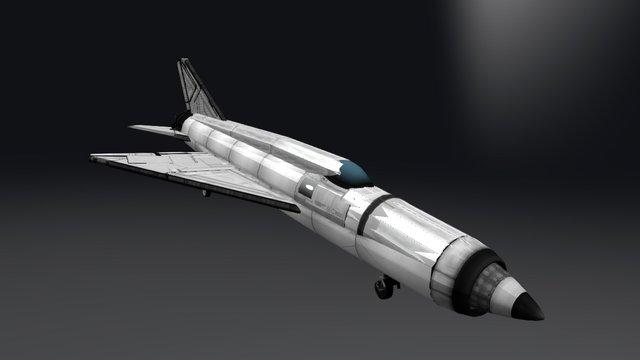mig 21 3D Model