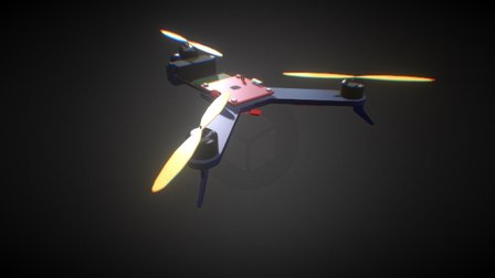 Tricopter 3D Model