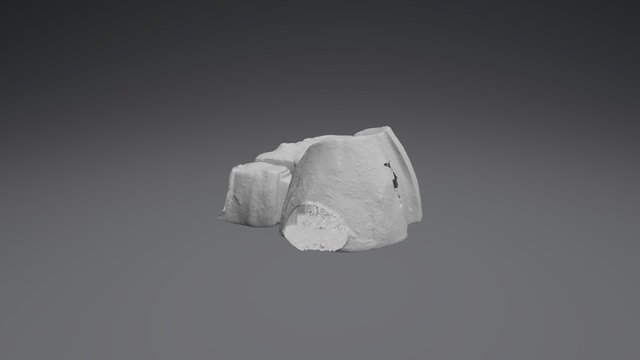 Rock-Cut Tomb - Sardinia 3D Model