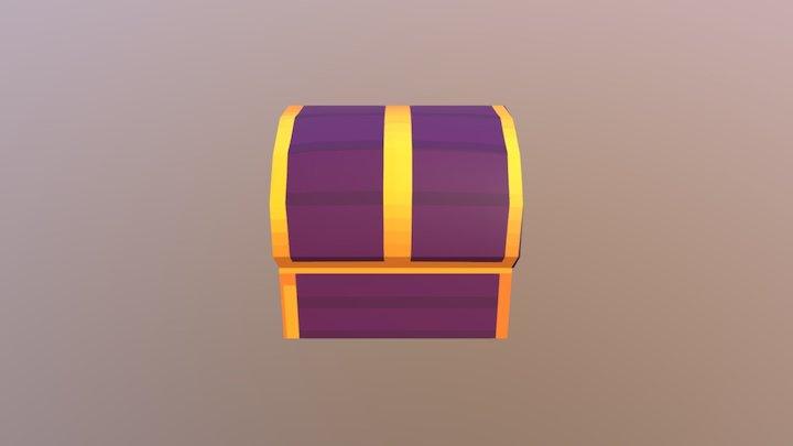 pixel chest 964 3D Model