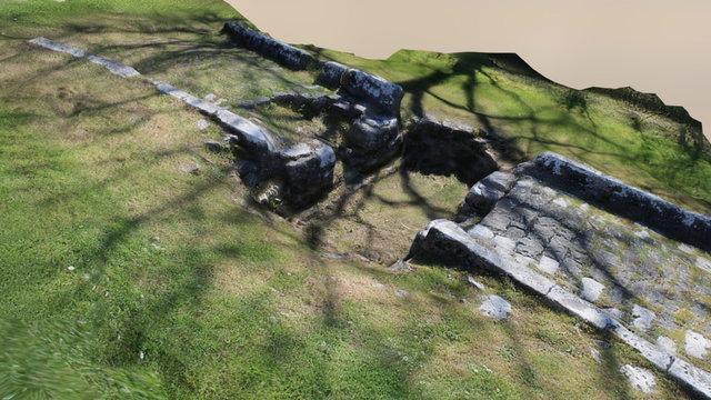 Les fours à chaux du Rey: La pesée 3D Model