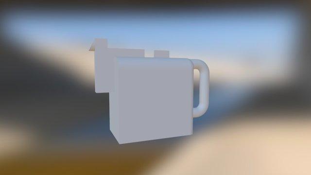 Malevich Coffeepot 3D Model