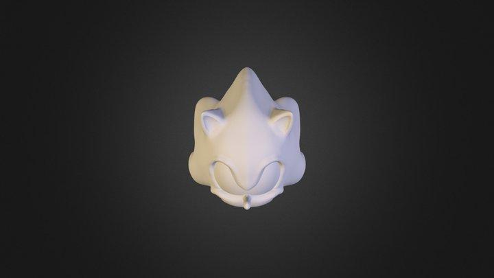 Sonichead 3D Model