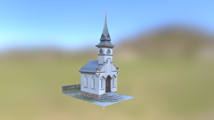 Dági kápolna, Chapel in Dág 3D Model