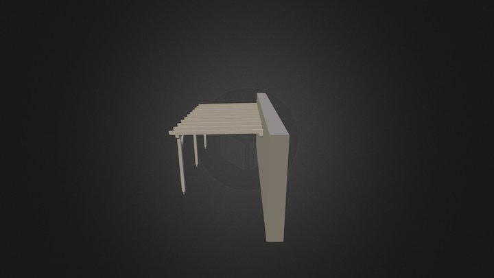 Carport EW1 3D Model