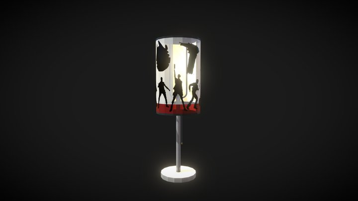 Star Wars The Resistance Desk Lamp