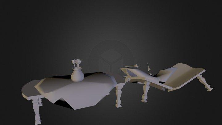 eettafel 3D Model