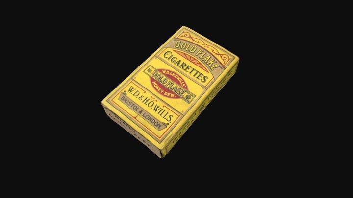 Packet of Cigarettes 3D Model