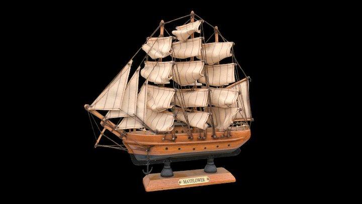 Sailing Ship Model 3D Model