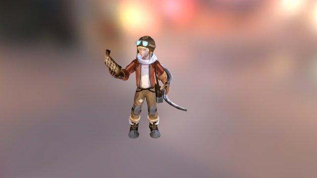Mikey 3D Model