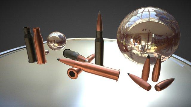 Bullet 7.62 v1.4 3D Model