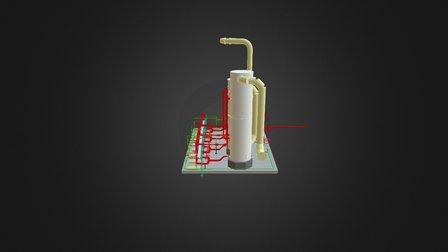 Industrial 3D Modeling thought Laser Scanner. 3D Model
