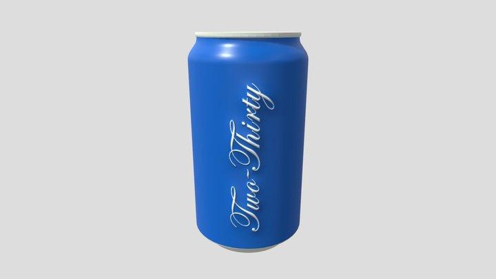 Cola Can (branding) 3D Model