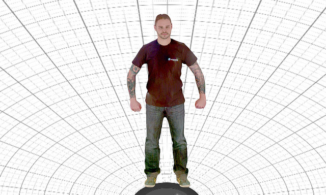 Steve 1st scan 3D Model