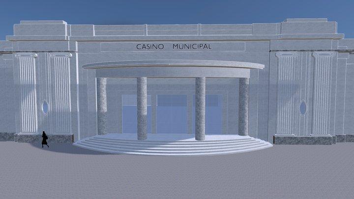L'ancien Casino municipal d'Aix-en-Provence 3D Model