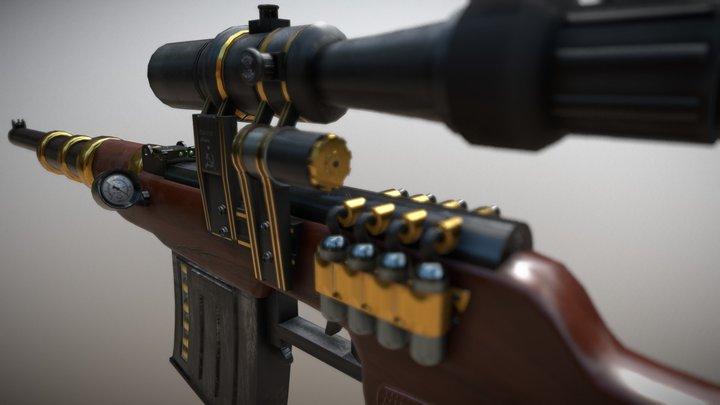 Steampunk VSS 3D Model