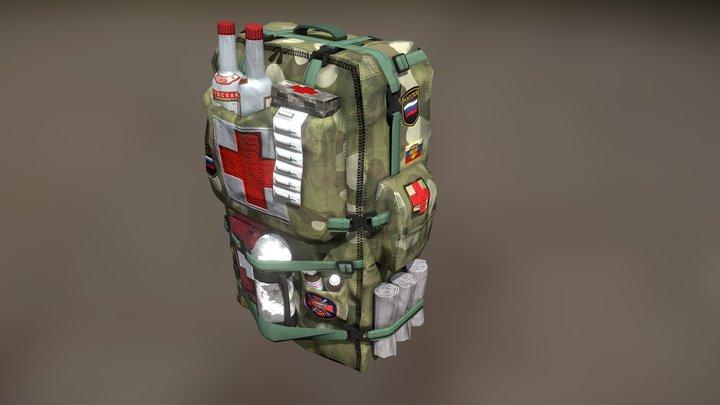 рюкзак первой помощи (backpack first aid) 3D Model