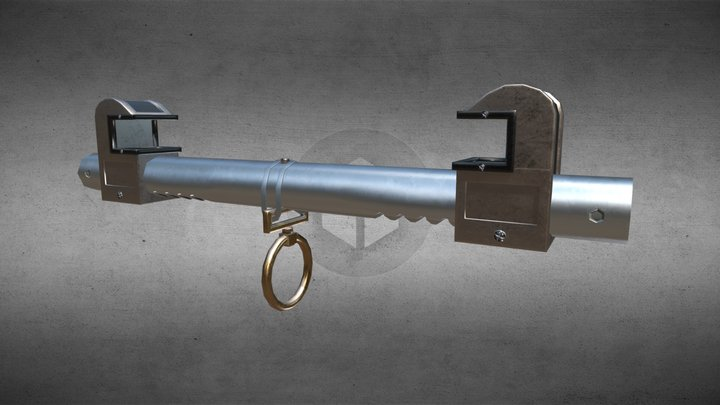 Beam Clamp 3D Model