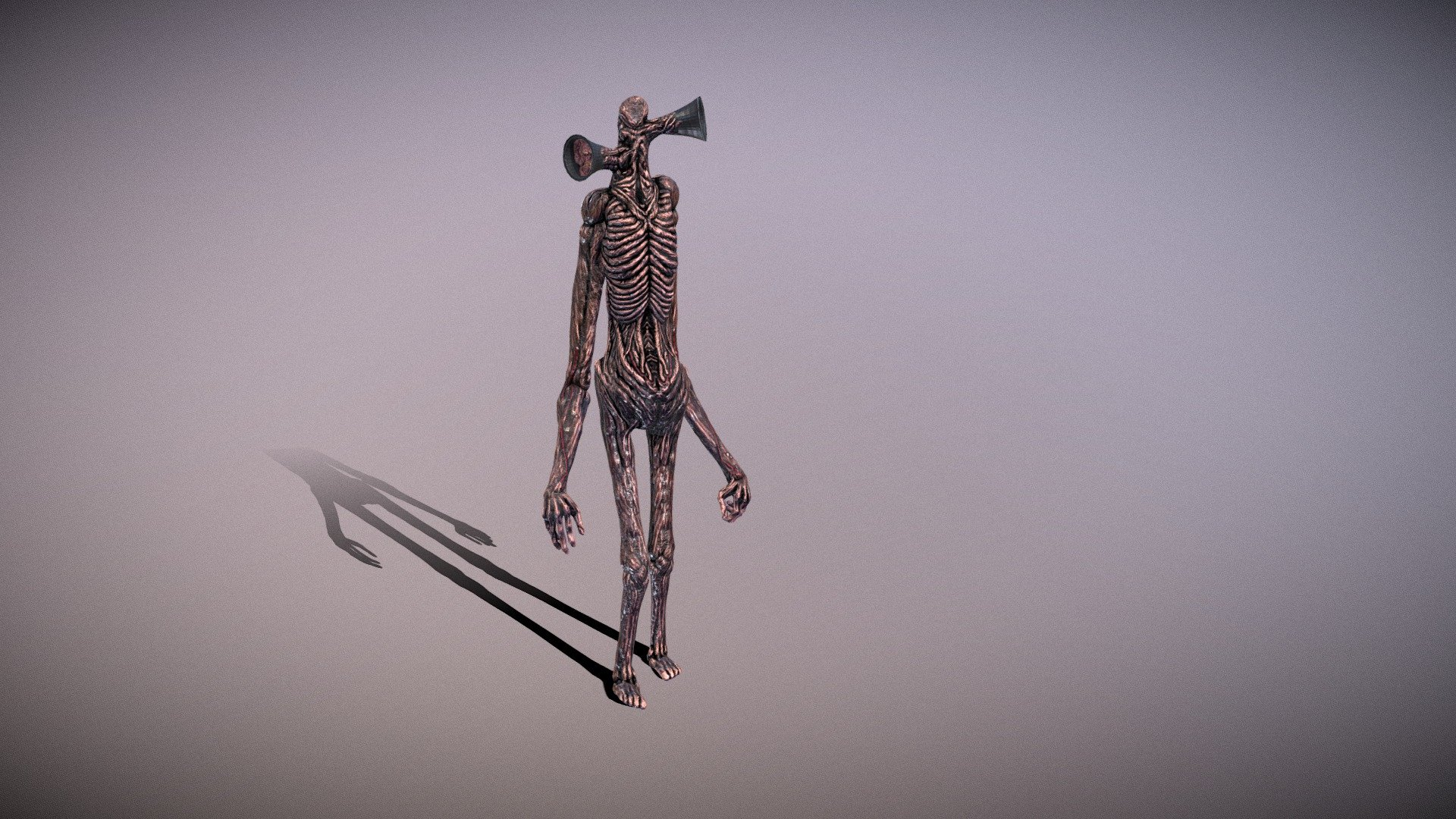 Sirenhead A Monster Created By Trevor Henderson 3d Model By