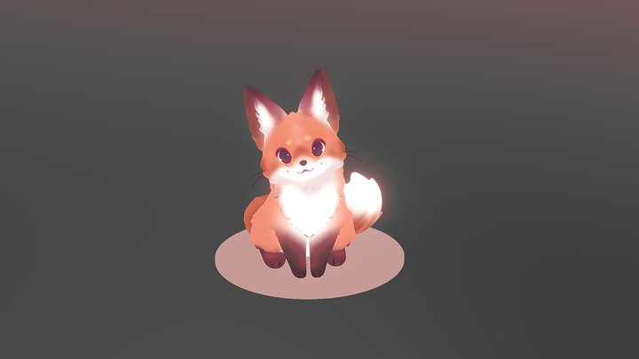 Fox - speedsculpt 3D Model