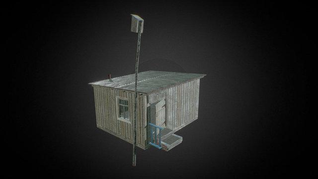 Woodshed 02 3D Model