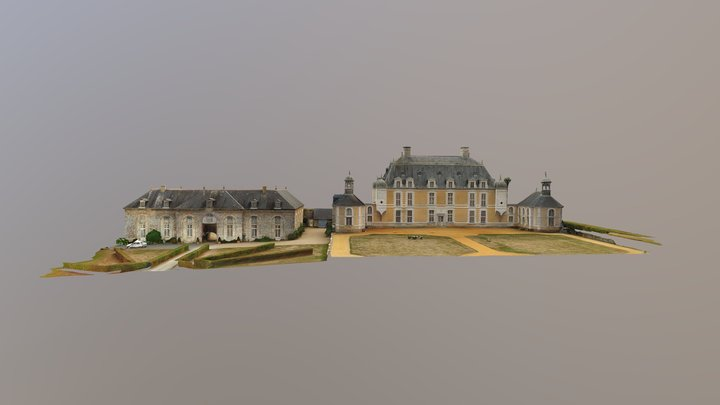 CHATEAU DU BOSCHET 3D Model