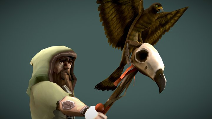 The Birdmaster 3D Model