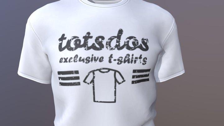 t-shirt_TotsDos 3D Model