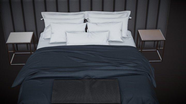 test bed 3D Model