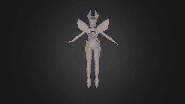 Mech Model 3D Model