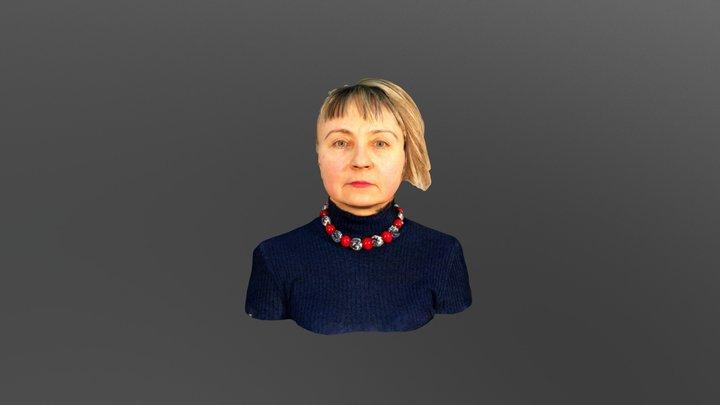Oksana Chepelyk 3D Model