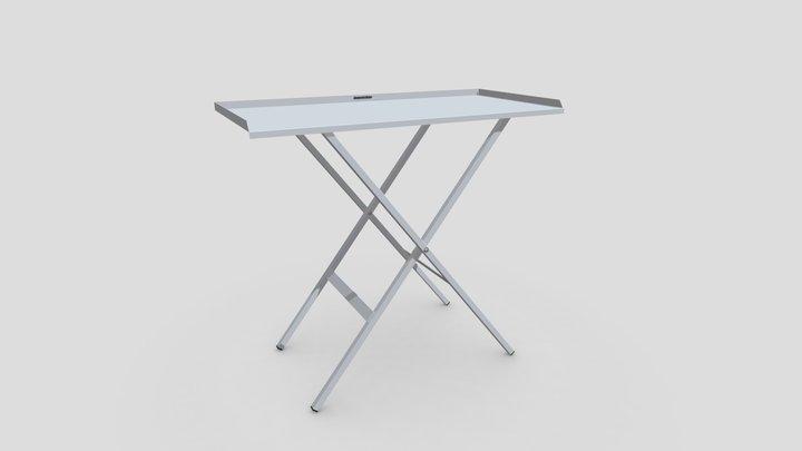 Folding Paddock Table 3D Model