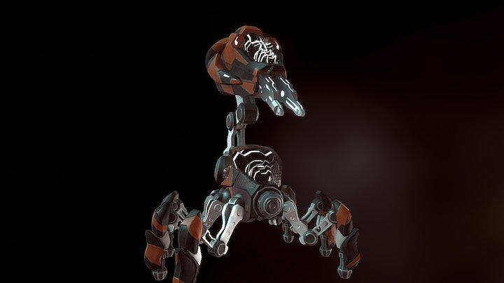 Turret02 3D Model