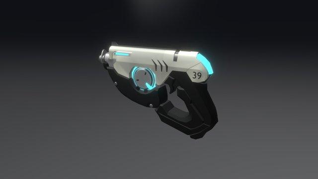 Tracer's Gun (Overwatch) 3D Model