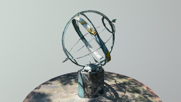 Armillary Sphere at Troup Square 3D Model