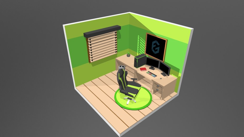 Isometric Gaming Room Download Free 3d Model By Robbyrefta Robbyrefta Acb7828 Sketchfab I made some things myself, but a lot of things are imported from the 3d warehouse. isometric gaming room download free
