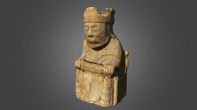 Lewis Chess Piece 3D Model