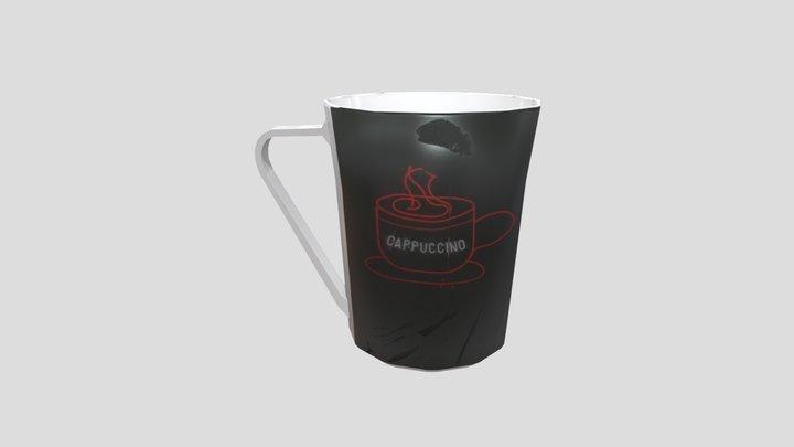 Cup pipline 3D Model