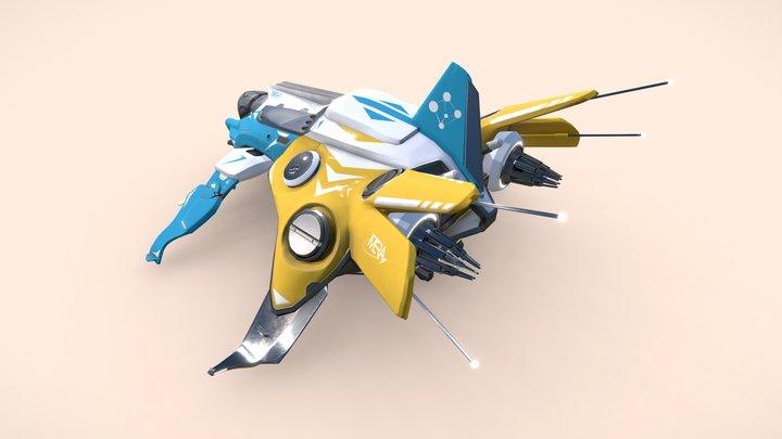 MERA - AIRCRAFT 3D Model